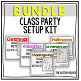 Class Party Setup Kit BUNDLE