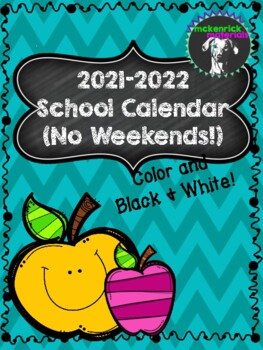FREE 20172018 Printable Calendar in Color and Black & White