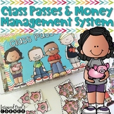 Classroom Management - Printable Class Money and Passes