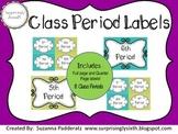 Class Period Labels