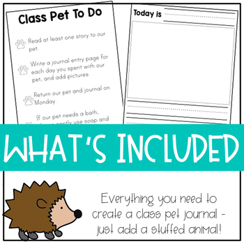 Class Pet Journal