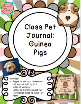 Class Pet Journal : Guinea Pig