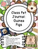 Class Pet Journal : Guinea Pig