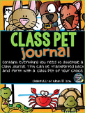Class Pet Journal Editable Version