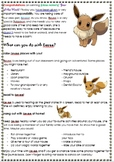 Class Pet/Mascot Journal Title Page/Instructions