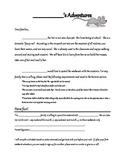 Class Pet Rat Note