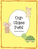 Class Pet Research Template