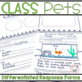 Class Pet Writing and Observation Forms