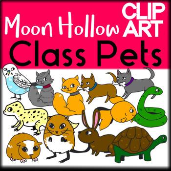 Class Pets - Moon Hollow Clip Art