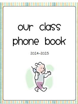 Class Phone Book