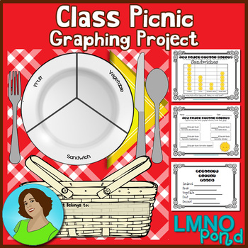Class Picnic Graphing Project {First Grade}