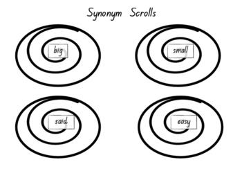 Class Picnic - Synonym and Antonym Literacy Activity