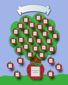 Class Picture Tree Keepsake
