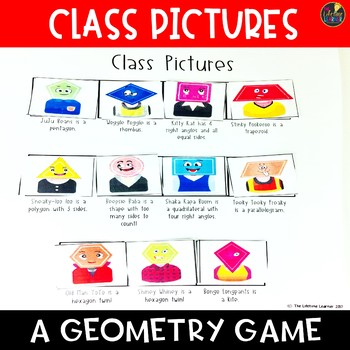 Class Pictures Geometry Game