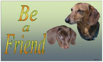 "Class Poster 4 ""Be A Friend"""