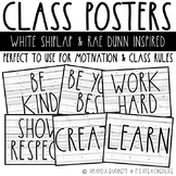Class Poster | Rae Dunn & Farmhouse Inspired