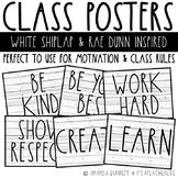 Class Poster | Rae Dunn & Farmhouse Inspired