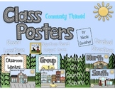 Class Posters- Community Themed