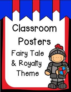 Class Posters - Fairy Tale Theme