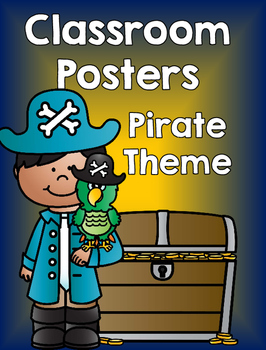Class Posters - Pirate Theme