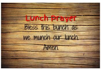 Class Prayers - Catholic School