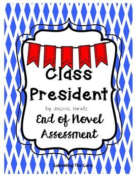Class President Novel Assessment