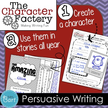 Class President: Persuasive Writing Activity {Character Factory}