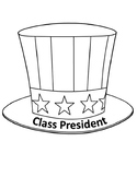 Class President and Vice President Sentence Strip Hats