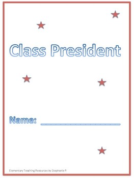 Class President text dependent comprehension questions