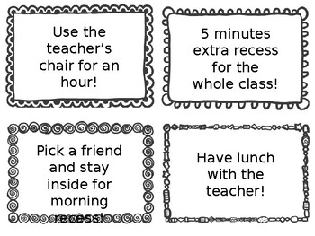 Class Privilege Coupons with Frames