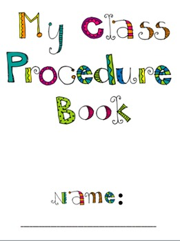 Class Procedure Book!
