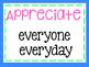 Class Promises, behavior expectations