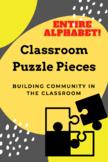 Class Puzzle Pieces - Entire Alphabet!