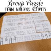 Class Puzzle Team Building Activity