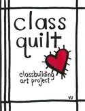 Class Quilt, Classbuilding Quilt, Back to School Quilt