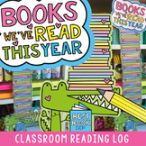 Class Reading Log - Books we've read this year!
