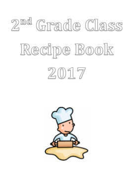 Class Recipe Book (Editable)