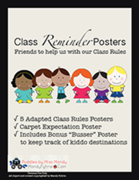Class Reminder Posters