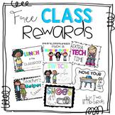 Class Reward Coupons