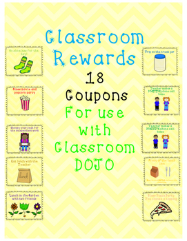Class Dojo - Reward Coupons [FREEBIE]