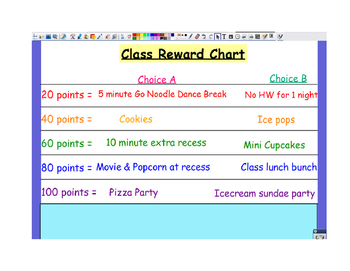 Class Reward Ideas!