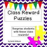 Class Reward Puzzles