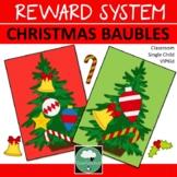 Class Reward System CHRISTMAS BAUBLES Classroom Management