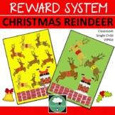 Class Reward System CHRISTMAS REINDEER Classroom Managemen
