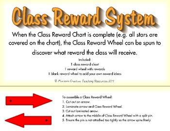 Class Reward System {Reward Chart and Wheel}