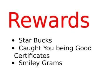 Class Rewards