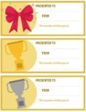 Class Rewards | Coupons | Prize Redemption | Vouchers Template
