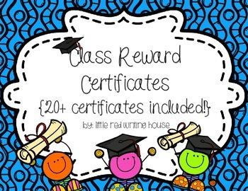 Class Rewards {HUGE FREEBIE}