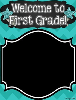 Class Rosters (Colorful Chevron & Chalkboard Theme)