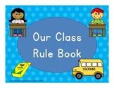 Class Rule Book Modified WBT Rules